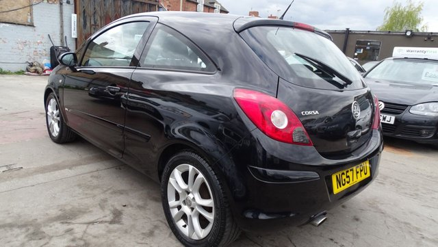 USED 2008 57 VAUXHALL CORSA 1.4 SXI A/C 16V 3d 90 BHP 1 YEAR MOT INCLUDED