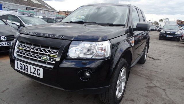 USED 2008 08 LAND ROVER FREELANDER 2.2 TD4 GS 5d 159 BHP LONG MOT VERY CLEAN CAR