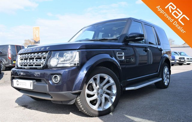 2015 65 LAND ROVER DISCOVERY 4 3.0 SDV6 HSE 5d 255 BHP