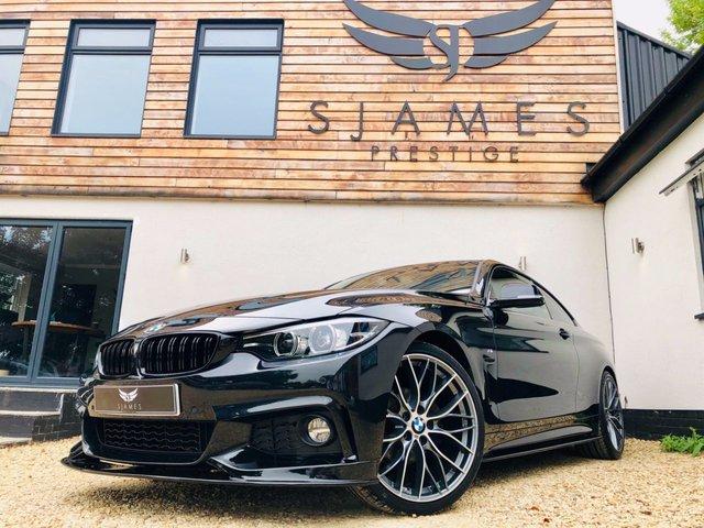 2018 18 BMW 4 SERIES 2.0 420D M SPORT 2d AUTO 188 BHP