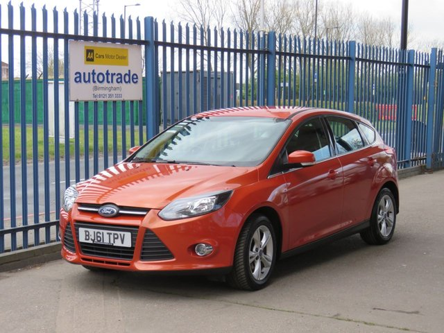 USED 2012 61 FORD FOCUS 1.6 ZETEC 5dr 124 Bluetooth & audio Alloys Air conditioning Fogs Finance arranged Part exchange available Open 7 days ULEX Compliant