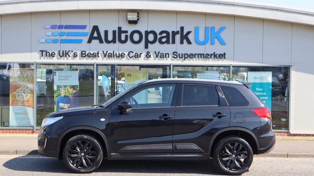 USED 2017 17 SUZUKI VITARA 1.6 KURO 5d 118 BHP LOW DEPOSIT OR NO DEPOSIT FINANCE AVAILABLE . COMES USABILITY INSPECTED WITH 30 DAYS USABILITY WARRANTY + LOW COST 12 MONTHS ESSENTIALS WARRANTY AVAILABLE FROM ONLY £199 (VANS AND 4X4 £299) DETAILS ON REQUEST. ALWAYS DRIVING DOWN PRICES . BUY WITH CONFIDENCE . OVER 1000 GENUINE GREAT REVIEWS OVER ALL PLATFORMS FROM GOOD HONEST CUSTOMERS YOU CAN TRUST .