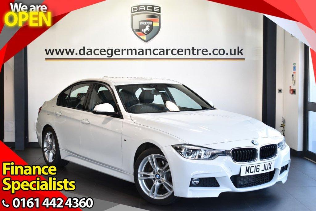 USED 2016 16 BMW 3 SERIES 2.0 320D M SPORT 4DR AUTO 188 BHP