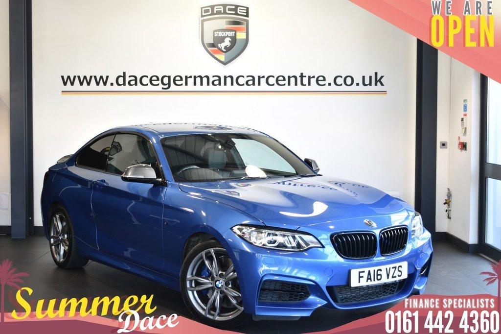 USED 2016 16 BMW 2 SERIES 3.0 M235I 2DR 322 BHP