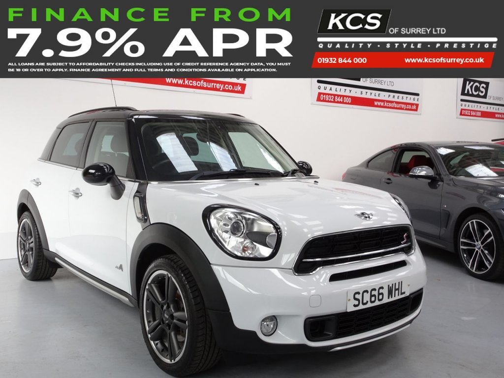 USED 2016 66 MINI COUNTRYMAN 1.6 COOPER S ALL4 5d 184 BHP ALL 4-CHILI PACK-VISUAL BOOST