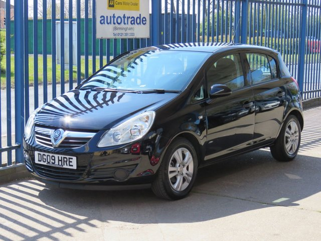 USED 2009 09 VAUXHALL CORSA 1.2 ACTIVE CDTI 5d 73 BHP 1 Lady Owner & Service History