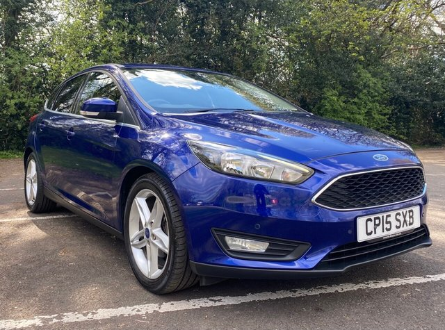 USED 2015 15 FORD FOCUS 1.0 ZETEC 5d 124 BHP DRIVE AWAY WITH JUST £99 DEPOSIT - FINANCE AVAILABLE