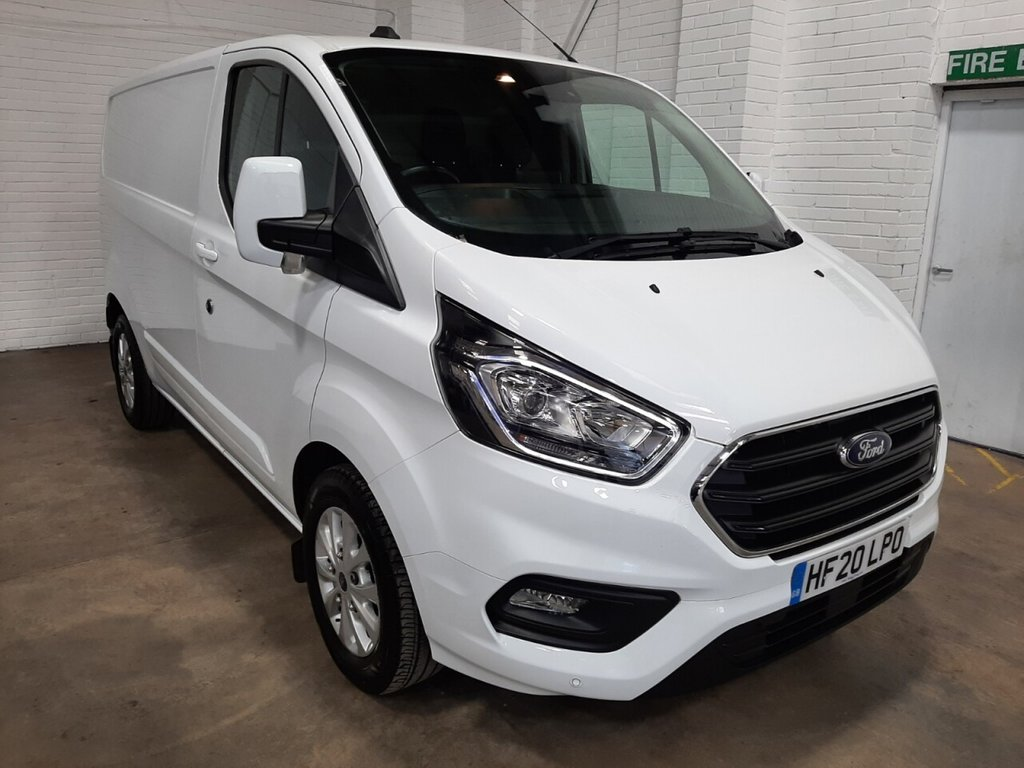 USED 2020 20 FORD TRANSIT CUSTOM 300 L1 H1 Limited 130ps
