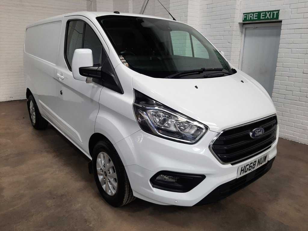 USED 2019 68 FORD TRANSIT CUSTOM 300 L1 H1 Limited 130ps
