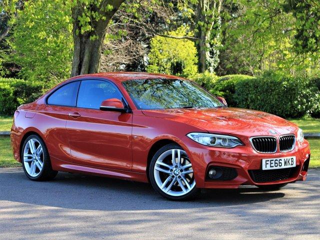 USED 2016 66 BMW 2 SERIES 2.0 220I M SPORT 2d 181 BHP £284 PCM With £1599 Deposit