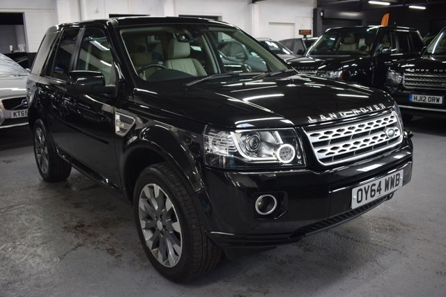 USED 2014 64 LAND ROVER FREELANDER 2 2.2 SD4 METROPOLIS 5d 190 BHP 4X4 Auto  RARE METROPOLIS SPEC - AUTO - ONE PREVIOUS KEEPER - IVORY LEATHER - NAV - HEATED SEATS - DETACHABLE TOWBAR - PRIVACY GLASS - 19 INCH ALLOY WHEELS