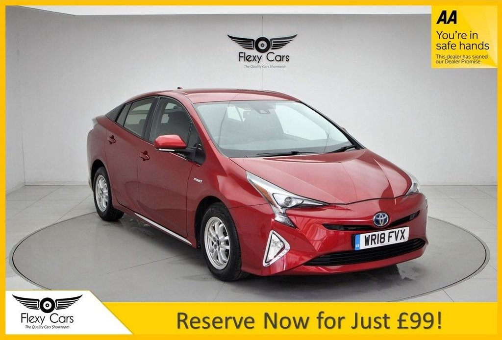USED 2018 18 TOYOTA PRIUS 1.8 VVT-I BUSINESS EDITION PLUS 5d 97 BHP