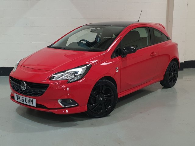 USED 2016 16 VAUXHALL CORSA 1.4 LIMITED EDITION 3d 89 BHP 2 Prev Owners/17 Inch Alloys /Bluetooth/Cruise/£30 Tax