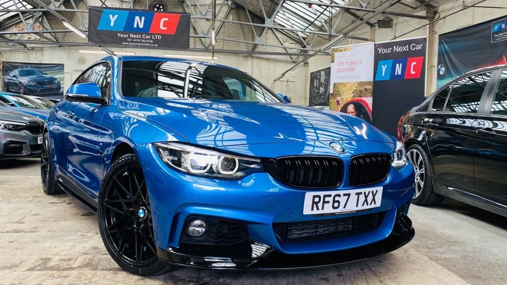 USED 2018 67 BMW 4 SERIES 3.0 435d M Sport Gran Coupe Auto xDrive (s/s) 5dr PERFORMANCEKIT+PLUSPACK+WOW