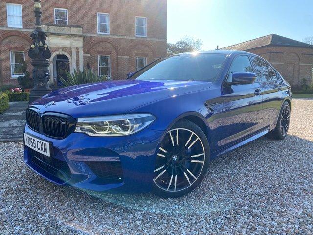2019 69 BMW M5 4.4 M5 4d 592 BHP