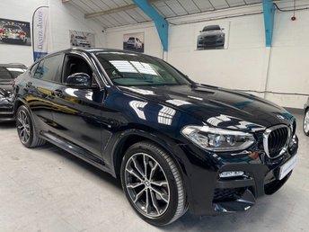2019 BMW X4 2.0 XDRIVE20D M SPORT 4d 188 BHP