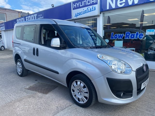 USED 2012 12 FIAT DOBLO 1.4 MYLIFE 5d 95 BHP *** FINANCE & PART EXCHANGE WELCOME *** WHEEL CHAIR ACCESS 4 SEATS TWIN SLIDING DOORS AIR/CON STOP/ START