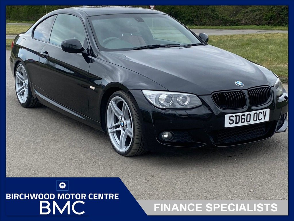 USED 2010 60 BMW 3 SERIES 2.0 320I M SPORT 2d 168 BHP. RED LEATHER INTERIOR!!!