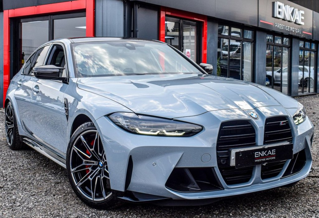 USED 2021 21 BMW M3 3.0 M3 COMPETITION 4d 503 BHP