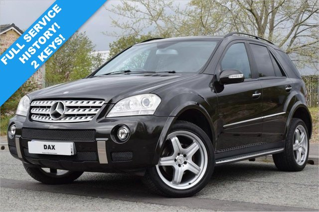 USED 2008 08 MERCEDES-BENZ M-CLASS 3.0 ML320 CDI SPORT 5d 222 BHP 1 PREVIOUS OWNER! FULL SERVICE HISTORY! AMG BODYSTYLING!