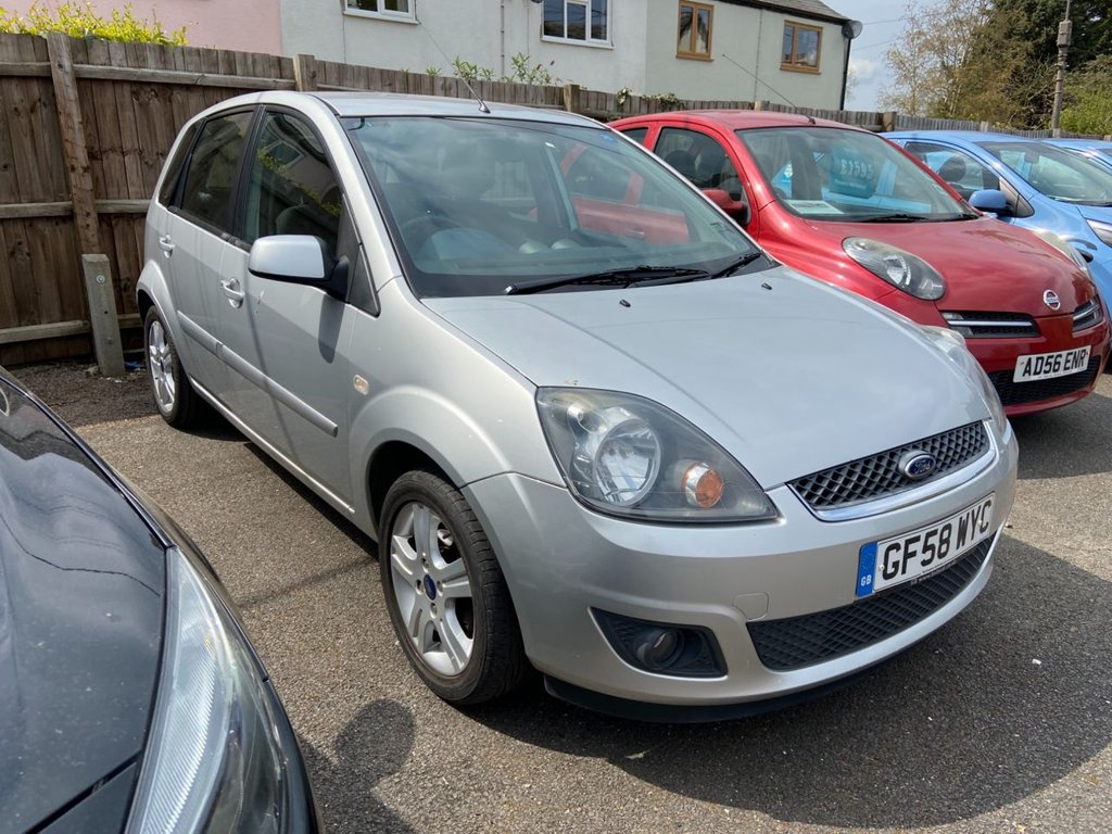 USED 2008 58 FORD FIESTA 1.4 ZETEC CLIMATE 16V 5d 80 BHP