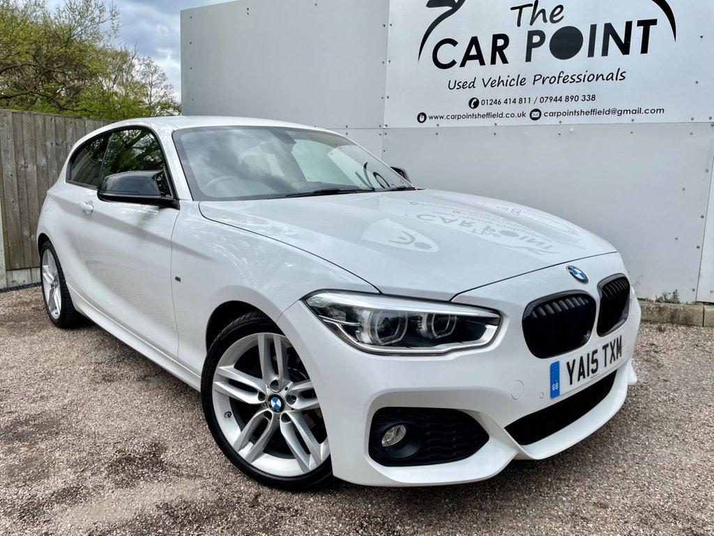 USED 2015 15 BMW 1 SERIES 2.0 118D M SPORT 3d 147 BHP