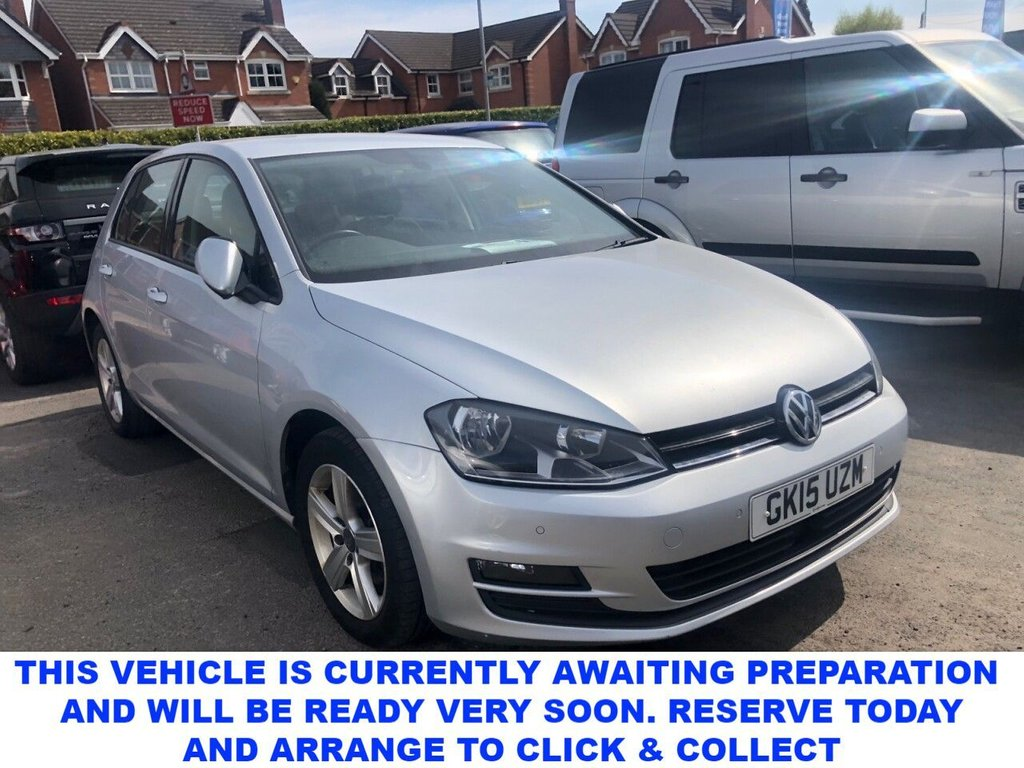USED 2015 15 VOLKSWAGEN GOLF 2.0 MATCH TDI BLUEMOTION TECHNOLOGY 5d 5 Seat Family Hatchback Spec Including Front & Rear Parking Sensors Air Conditioning Adaptive Cruise Control Bluetooth New Timing Belt and New Clutch in 2019 Plus Recent Service New MOT 2 Former Keepers