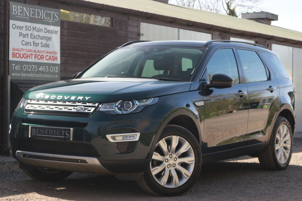 USED 2015 65 LAND ROVER DISCOVERY SPORT 2.2 SD4 HSE LUXURY 5d 190 BHP