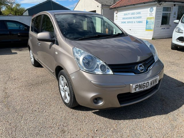 USED 2010 60 NISSAN NOTE 1.5 TEKNA DCI 5d 86 BHP SAT NAV / PARKING SENSORS /  CAM BELT AND WATER PUMP DONE