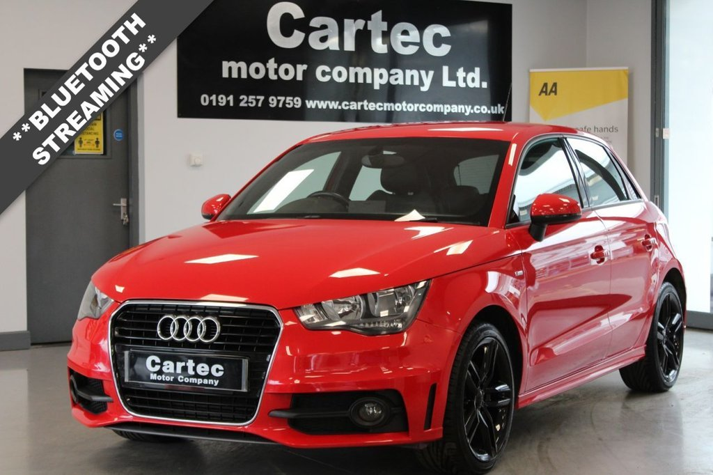 USED 2013 13 AUDI A1 1.6 SPORTBACK TDI S LINE 5d 105 BHP ***BLUETOOTH STREAMING***
