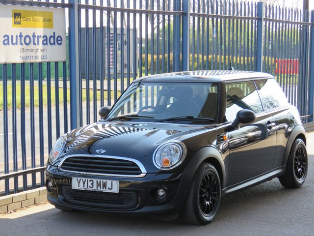 USED 2013 13 MINI HATCH ONE 1.6 ONE 3d 98 BHP DAB RADIO-AIR CON-ALLOYS-6 SPEED MANUAL-ALARM-FRONT FOGS