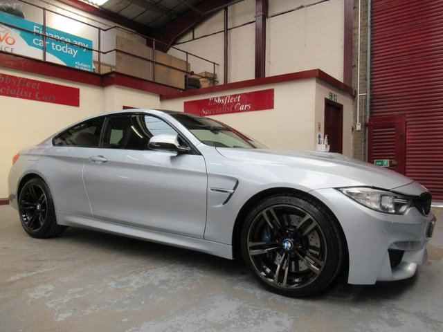 USED 2015 15 BMW M4 3.0 BiTurbo DCT (s/s) 2dr ***24000 MILES F/BMW/S/H***