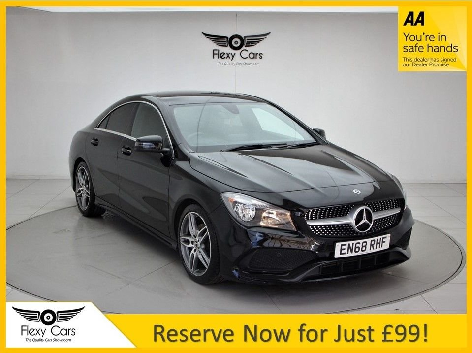 USED 2019 68 MERCEDES-BENZ CLA 1.6 CLA 200 AMG LINE EDITION 4d 154 BHP