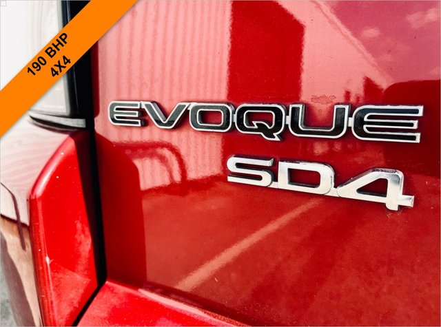 USED 2012 62 LAND ROVER RANGE ROVER EVOQUE 2.2 SD4 PURE TECH 5d 190 BHP