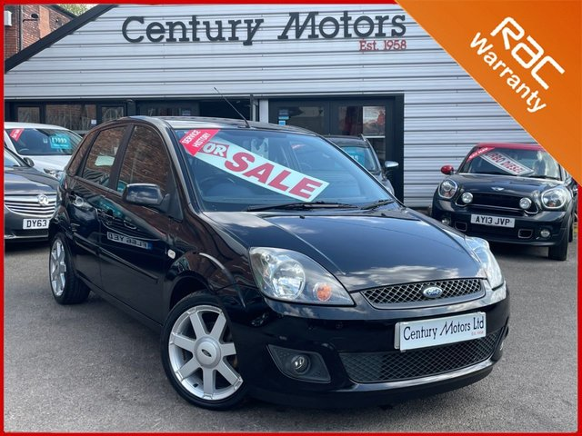 2008 58 FORD FIESTA 1.4 Zetec BLUE 5dr - ALLOY WHEELS