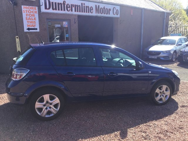 USED 2009 59 VAUXHALL ASTRA 1.4i 16V Active 5dr ++LOW MILEAGE ONLY44K TRADE IN TO CLEAR++