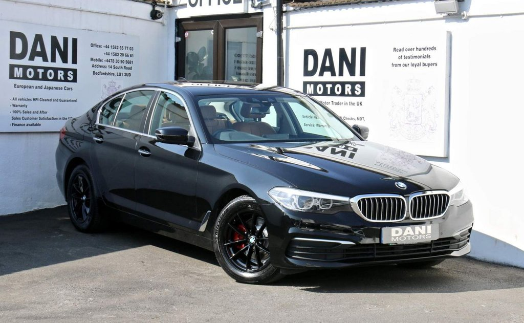 USED 2017 67 BMW 5 SERIES 2.0 520d SE Auto xDrive (s/s) 4dr 1 OWNER*SATNAV*PARKING AID