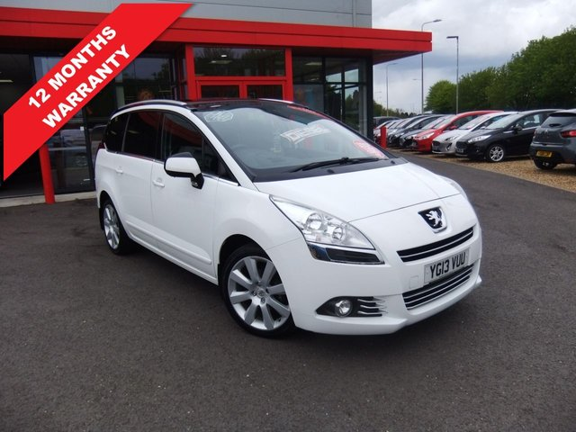 USED 2013 13 PEUGEOT 5008 1.6 E-HDI ALLURE 5d 115 BHP *****12 Months Warranty*****