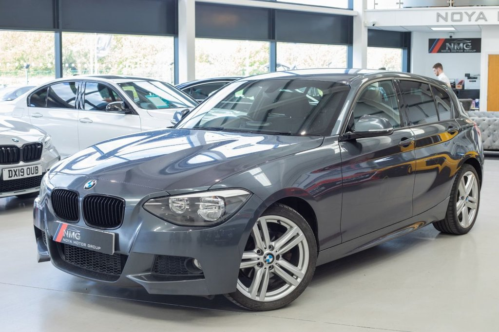 USED 2013 13 BMW 1 SERIES 2.0 120D M SPORT 5d 181 BHP ***DELIVERY NATIONWIDE***