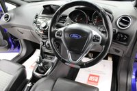 USED 2015 65 FORD FIESTA 1.6 ST-3 3d 180 BHP SAT/NAV, LEATHER, 5 SERVICES, ST STYLE PACK, DAB, BLUETOOTH..