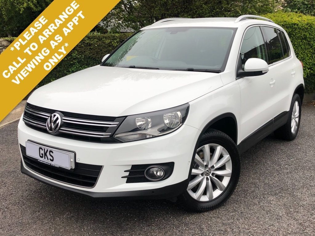 USED 2014 64 VOLKSWAGEN TIGUAN 2.0 MATCH TDI BLUEMOTION TECH 4MOTION DSG 5d 139 BHP ** NATIONWIDE DELIVERY AVAILABLE **