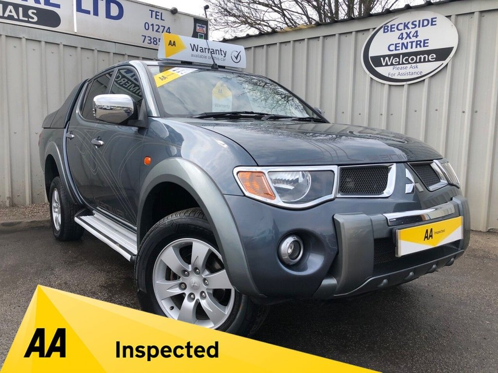 USED 2006 06 MITSUBISHI L200 2.5 ANIMAL LWB DCB 164 BHP NO VAT NO VAT. AA INSPECTED. FINANCE. WARRANTY. HIGH SPEC. MANY EXTRAS. SPORTS CANOPY. LOW MILES