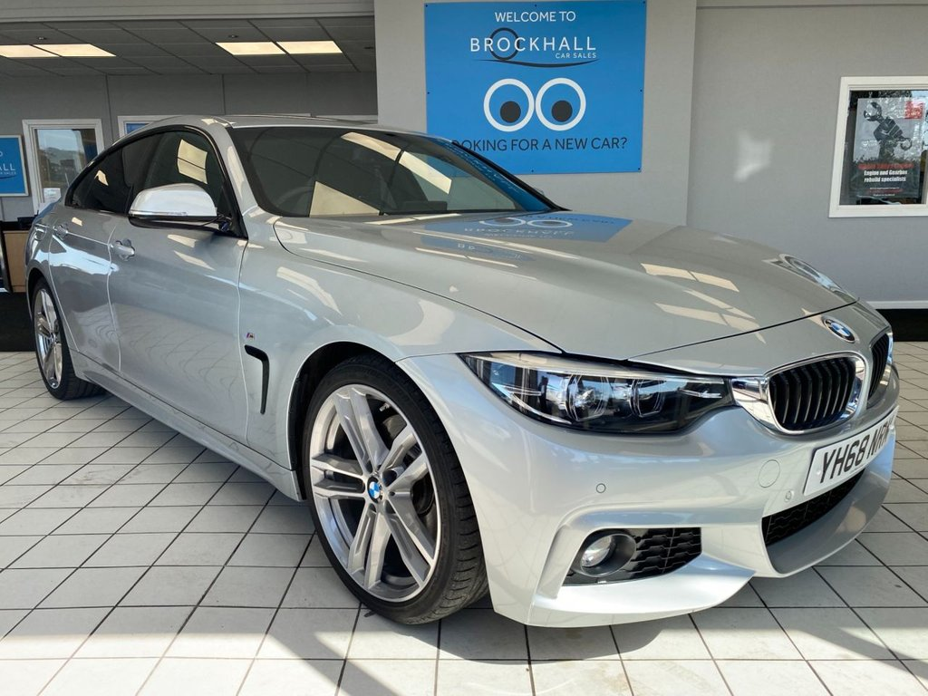 USED 2019 68 BMW 4 SERIES GRAN COUPE 430d M SPORT 258 BHP