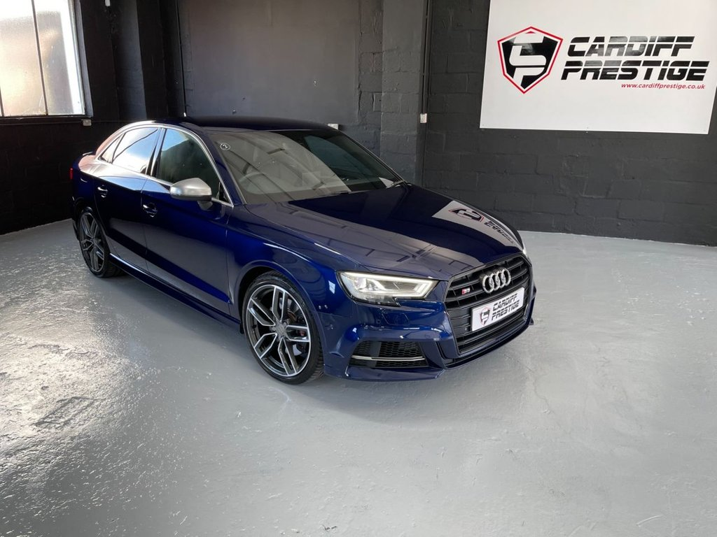 USED 2018 68 AUDI A3 2.0 S3 QUATTRO 4d 306 BHP 4K VIDEO - OVER £3000 OPTIONS