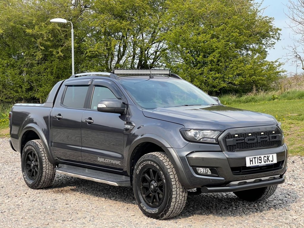USED 2019 19 FORD RANGER 3.2 WILDTRAK 4X4 DCB TDCI 4d 197 BHP Free Next Day Nationwide Delivery