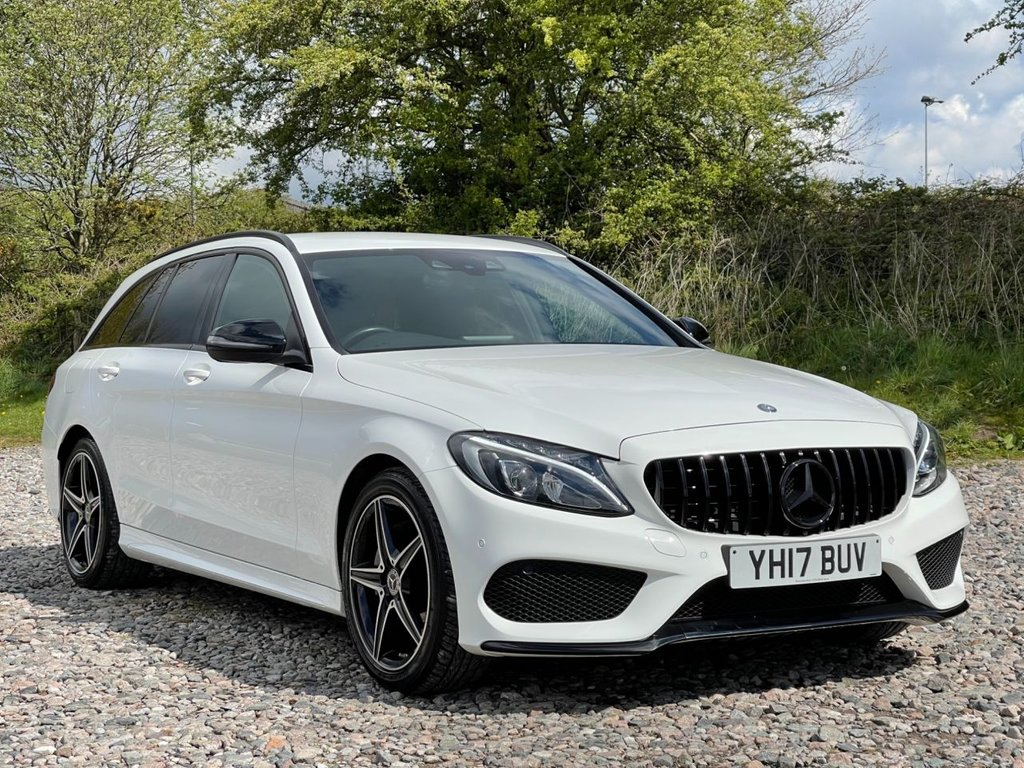 USED 2017 17 MERCEDES-BENZ C-CLASS 2.1 C 220 D AMG LINE 5d 170 BHP Free Next Day Nationwide Delivery