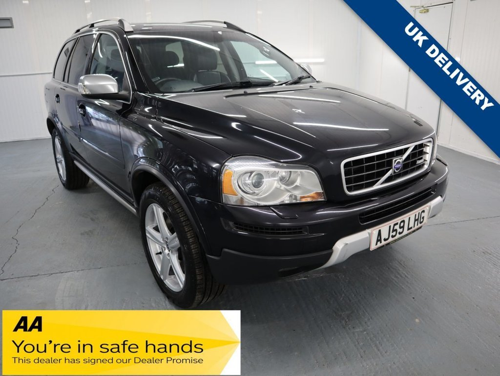 USED 2009 59 VOLVO XC90 2.4 D5 R-DESIGN SE PREMIUM AWD 5d 185 BHP BEEN MAINTAINED BY A VOLVO ENTHUSIAST AND HAS EXTENSIVE SERVICE HISTORY DOCUMENTATION. PLUS THIS VEHICLE HAS £3,200 WORTH OF FACTORY FITED EXTRAS