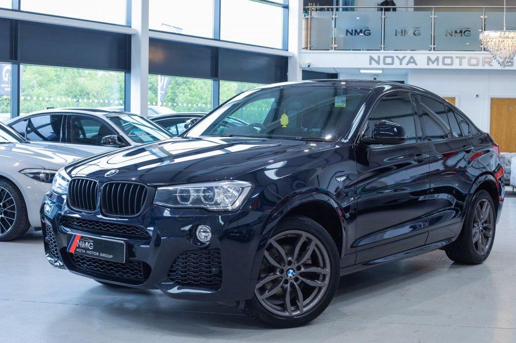 USED 2015 65 BMW X4 2.0 XDRIVE20D M SPORT 4d 188 BHP 6 MONTH WARRANTY-12 MONTH MOT