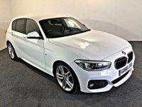 USED 2017 66 BMW 1 SERIES 2.0 118D M SPORT 5d 147 BHP