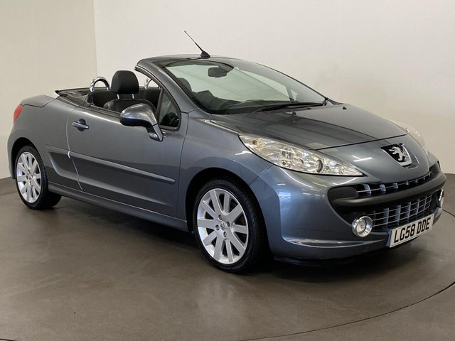 USED 2008 58 PEUGEOT 207 1.6 GT COUPE CABRIOLET 2d 118 BHP